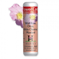 Holistica 'Flower Comlpex N°4 : Rose Sauvage, Olive, Châtaigne Blanche, Moutarde' Granules - 100 g