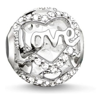 Thomas Sabo 'Heart of Love' Charm