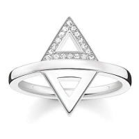 Thomas Sabo Triangle' Ring