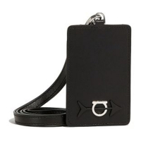 Salvatore Ferragamo Men's 'Logo' Card Holder