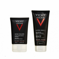 Vichy 'Sensi Baume' After-shave Balm, Shower Gel - 2 Units