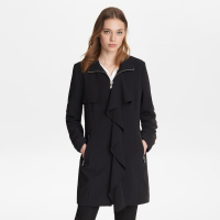 Karl Lagerfeld Women's 'Zip Front' Trench Coat