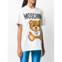 Moschino 'Imprimé graphique' T-Shirt für Damen