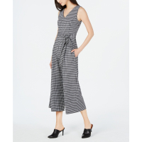 Calvin Klein Women's 'Printed Cropped Sleeveless' Jumpsuit