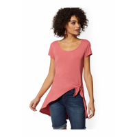 New York & Company 'Knot-Front Hi-Lo  - Soho Soft Tee' Top für Damen