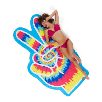Big Mouth 'Peace Fingers' Beach blanket - 1 Unit