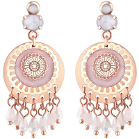 Unlimited Luxury Creation 'Clara Pink Gold' Earrings