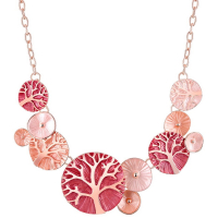 Unlimited Luxury Creation Collier 'Evenal Pink Coral'