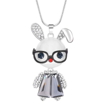 Unlimited Luxury Creation Collier 'The Smart Rabbit Silver'