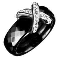 Unlimited Luxury Creation Bague 'Diana Black'