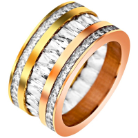 Unlimited Luxury Creation Bague 'Maniengo All Gold'