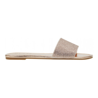 Guess Women's 'Bases Rhinestone' Slides