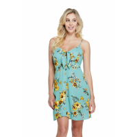 Guess Women's 'Baylor Tie Front Floral' Dress