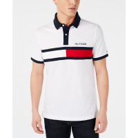 Tommy Hilfiger Men's 'Custom Fit Logo Graphic' Polo Shirt
