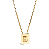 Celine Women's 'Alphabet B' Necklace