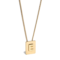 Celine Women's 'Alphabet E' Necklace