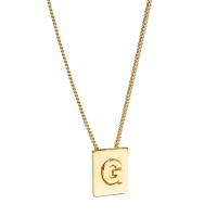 Celine Women's 'Alphabet G' Necklace