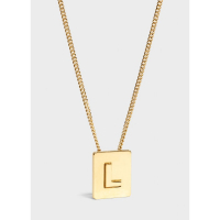 Celine Women's 'Alphabet L' Necklace