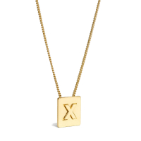 Celine Women's 'Alphabet X' Necklace
