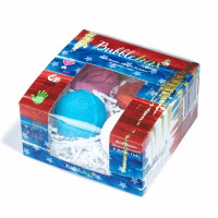 Sky Organics Set 'Deluxe Stars & Stripes Bubble Box' - 4 Unités