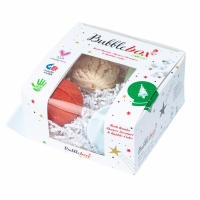 Sky Organics Set 'Deluxe Twinkle Cinammon Bubble Box' - 4 Unités