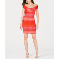 Guess Women's 'Danna Ribbed Off-The-Shoulder Bodycon' Dress