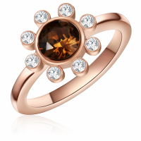 Saint Francis Crystals Women's 'Costume' Ring