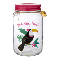 Sass and Belle 'Tiki Toucan Holiday' Geldglas