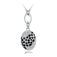 Crystal Pearl Pendentif pour femmes