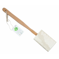 So Eco 'Flat Wooden Handle' Loofah