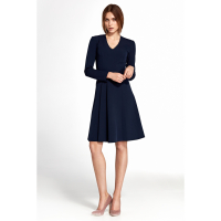 Nife Women's Long-Sleeved Dress
