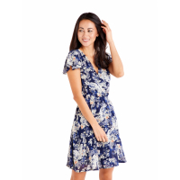ISKA 'Rose Floral Wrap Effect' Kleid für Damen
