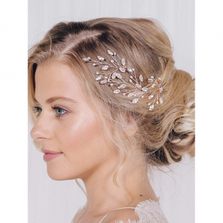 Women's Crystal & Pearl' Hair Accessory