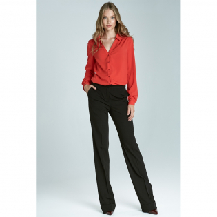 Women's 'Wide & Creased' Trousers