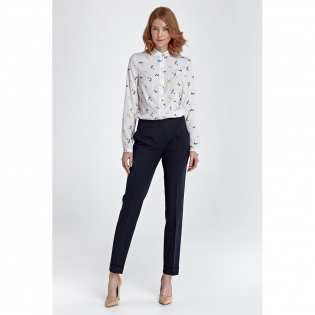 Women's 'Creased Ankle-length' Trousers