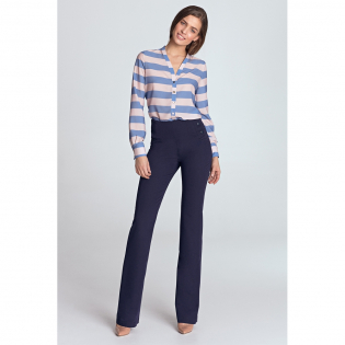 Women's 'High-waisted, Fitted' Trousers