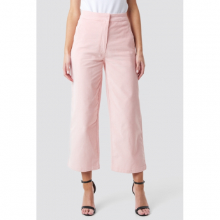 Women's 'Corduroy Cropped' Trousers
