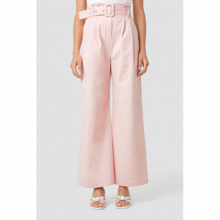 Women's 'Belted Wide Leg' Trousers