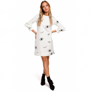 Women's 3/4 Long-Sleeved Dress