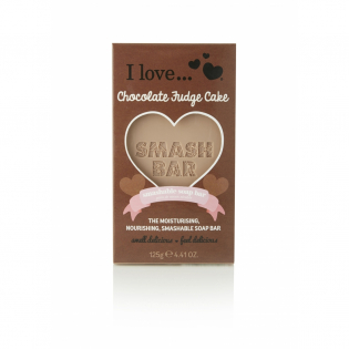 'Smash Chocolate Fudge Cake' Bar soap - 125 g