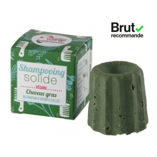 'Scent of wild herbs' Solid Shampoo - 55 g