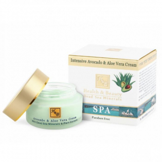 'Avocado & Aloe Vera' Face Cream - 50 ml