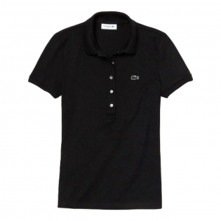 Women's 'Stretch Mini Piqué' Polo Shirt