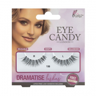 'Dramatise' Fake Lashes - 106