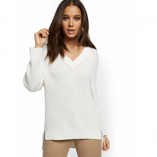 Women's 'V-Neck' Sweater
