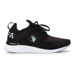 Women's 'Black & Blue Pacer 2 Low-Top' Sneakers
