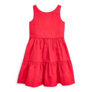 Little Girl's 'Faille Fit-and-Flare' Dress