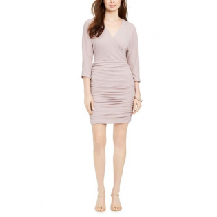 Women's 'Ruched Glitter' Bodycon Dress