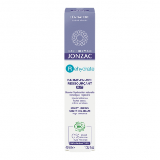 'Gel H2O Booster' Night balm - 40 ml