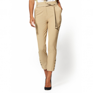 Women's 'Button Accent Superstretch' Trousers